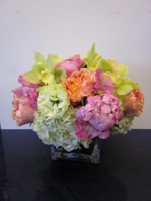 Ann\'s Flowers Peonies and orchids