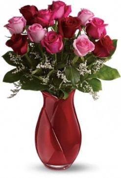 Say I love You Bouquet - Dozen Long Stemmed Premium Roses